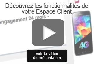 Vidéo Espace Client