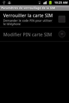 veuillez introduire un code pin valide
