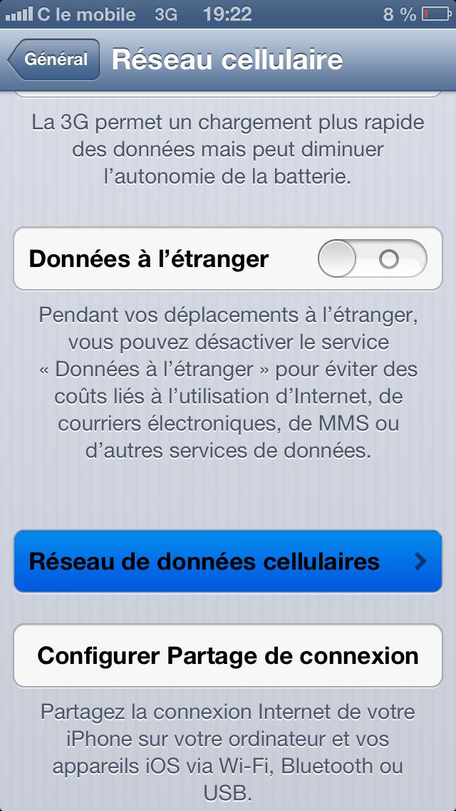 regler wifi depuis espace client sfr