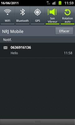 Comment lire les sms sur mon mobile galaxy s2 r solue - Recevoir les sms d un autre portable ...