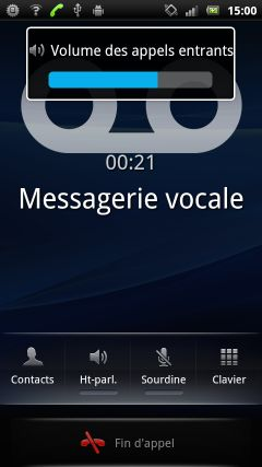 comment augmenter le son de mon sony ericsson