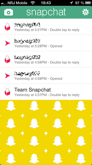 comment trouver amis sur snapchat
