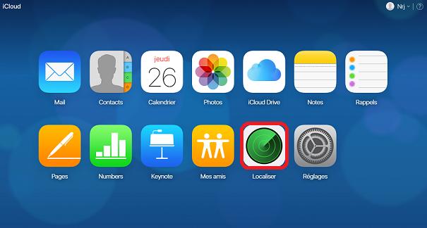 localiser mon iphone pc windows
