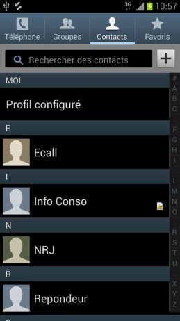 comment savoir si mes contacts sont sur ma carte sim Comment copier les contacts de mon téléphone Samsung Galaxy S3
